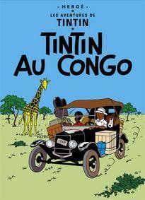 Poster - Tintin au Congo - Tintin i Kongo