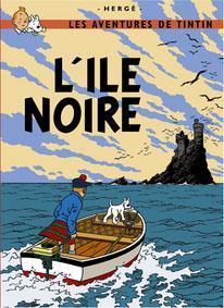 Poster - L'Île Noire - Den svarta ön