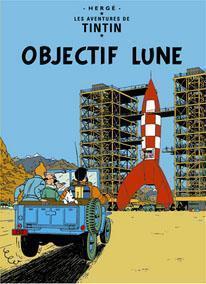 Poster - Objectif Lune - Månen tur och retur (del 1)
