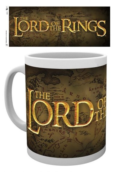 Lord of the Rings - Logo - Mugg