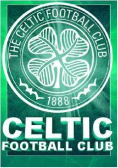 3D Poster UNIK - Celtic - Crest - FRI FRAKT!!!