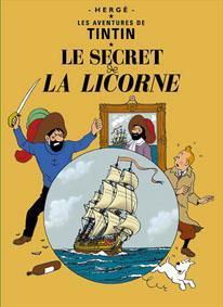 Poster - Tintin Le secret de la Licorne - Enhörningens hemlighet