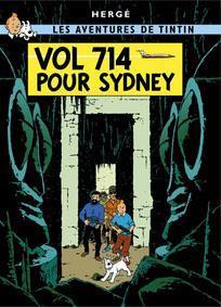 Poster - Tintin Vol 714 pour Sydney - Plan 714 till Sydney