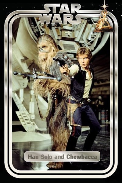 Star Wars - Han and Chewie Retro