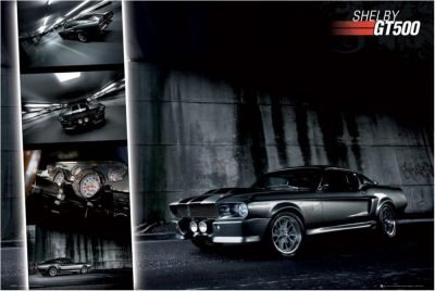 Ford Mustang - Shelby GT 500 - Classic car