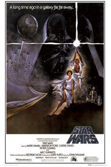 Star Wars - Episode 4 - One Sheet A