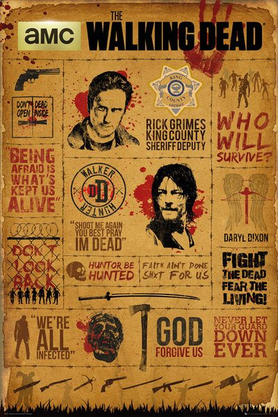 The Walking Dead - Infographic