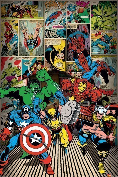 Marvel Comics - Here Come The Heroes