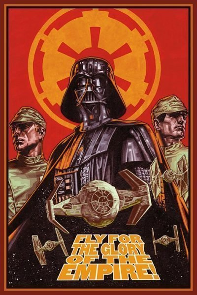 Star Wars - Fly for the glory of the Empire
