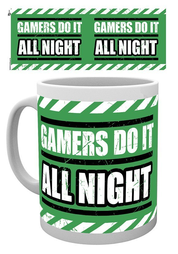 Gamers do it all night - Mugg