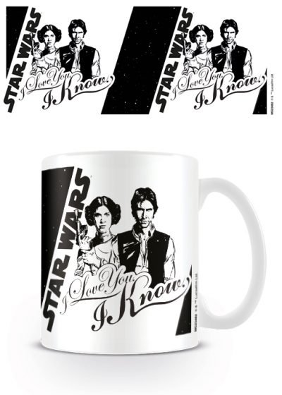 Star Wars - I Love You - Mugg