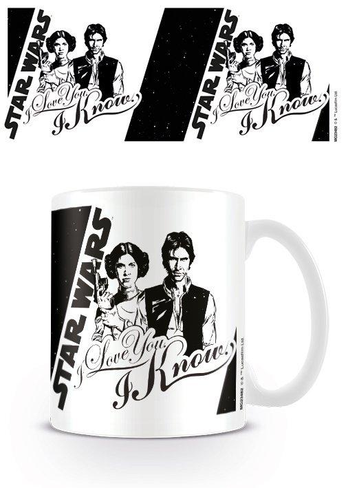 Star Wars - I Love You - Mugg
