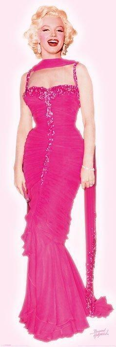 Marilyn Monroe - Pink dress