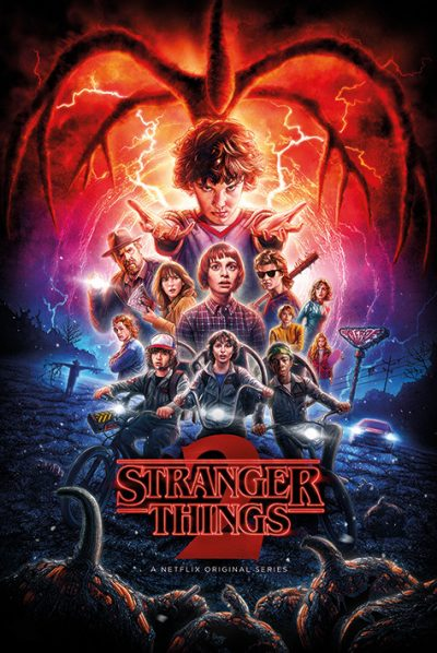 Stranger Things - One-Sheet Season 2