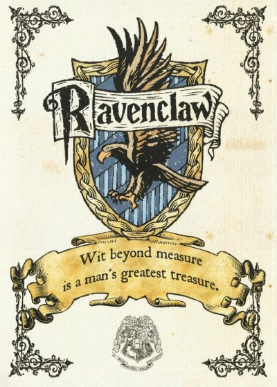 Pergament - Harry Potter - Ravenclaw Crest