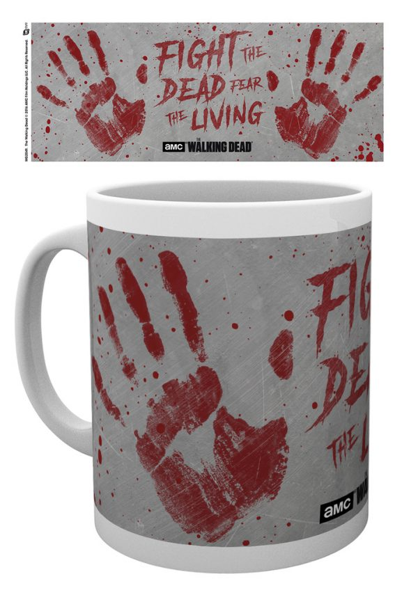 The Walking Dead - Hand Prints - Mugg
