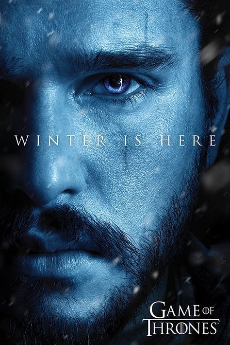 Game Of Thrones - Winter is Here - Jon