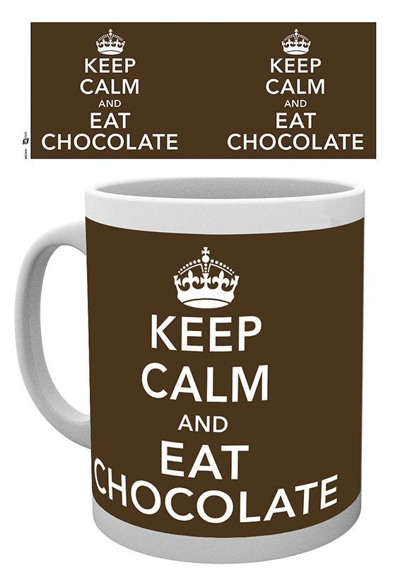 Keep calm and eat chocolate - Mugg