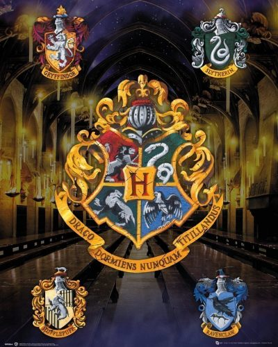 Harry Potter - House Crests