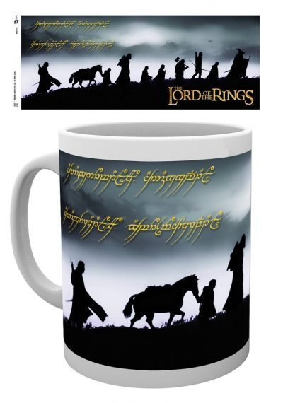 Lord of the Rings - Fellowship - Mugg