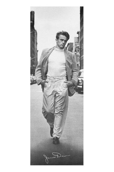 James Dean - Walking