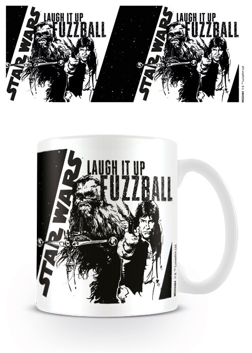 tar Wars - Laugh it up Fuzzball - Mugg