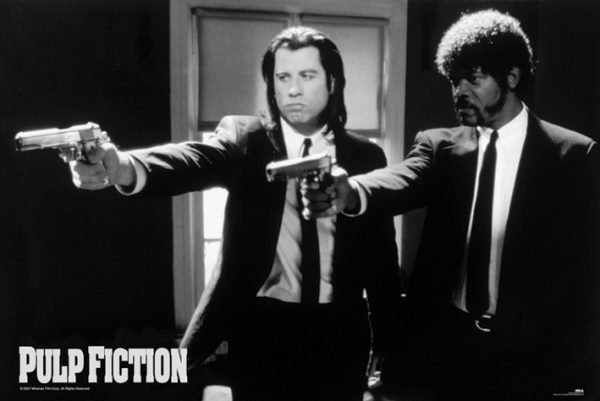 Pulp Fiction - B&W Guns