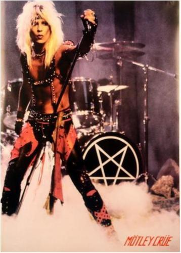 Mötley Crüe - Motley Crue - Vince Neil