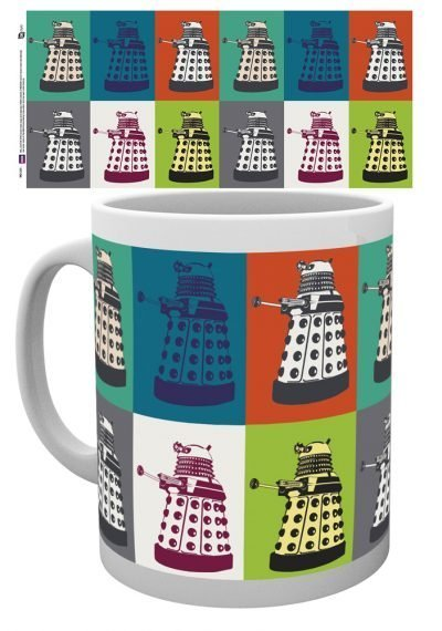 Doctor Who - Dalek Pop Art - Mugg