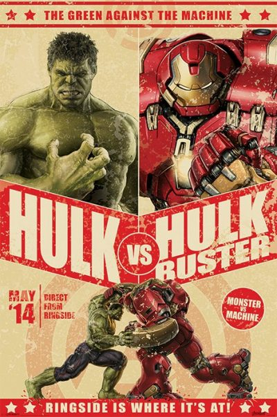Avengers - Age Of Ultron (Hulk Vs Hulkbuster)