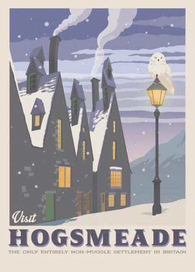 Pergament - Harry Potter - Visit Hogsmeade