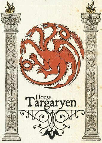 Pergament - Game Of Thrones - House Targaryen