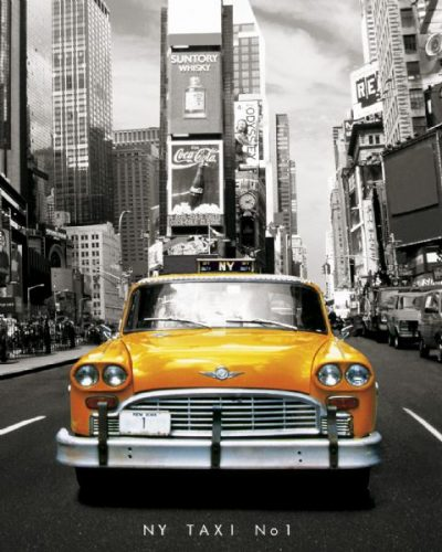 New York - Taxi no. 1 - Yellow cab