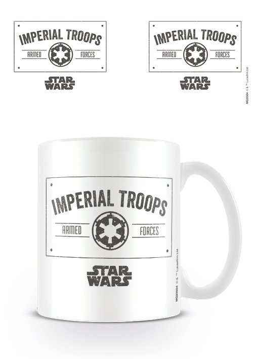 Star Wars - Imperial Troops - Mugg