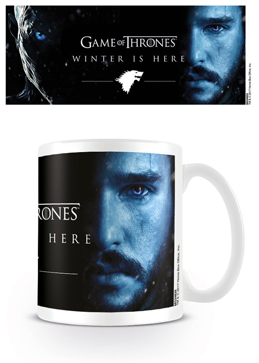Game of Thrones - Winter Is Here - (Jon Snow) - Mugg
