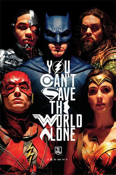 Justice League Movie - Save The World