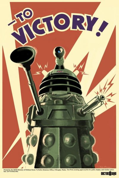 Doctor Who - Dalek - To Victory