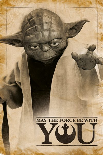 Star Wars - Yoda May The Force Be With You