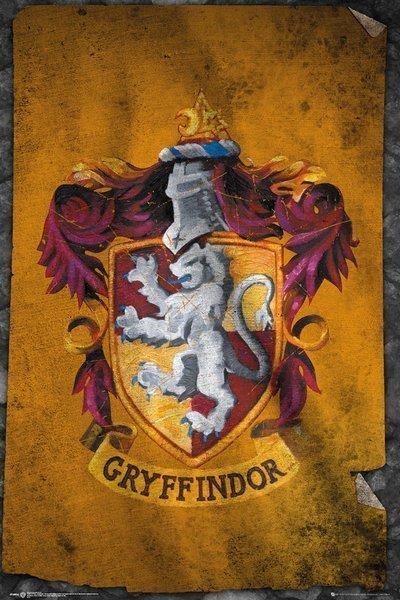 Harry Potter - Gryffindor Flag