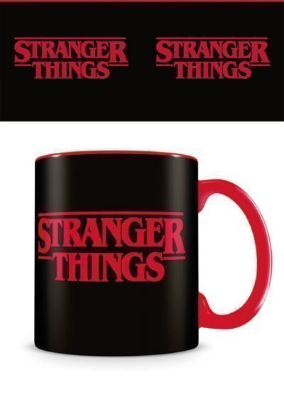 Stranger Things - Logo - Mugg