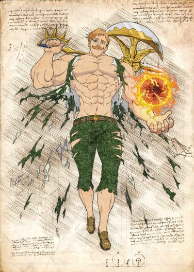 Pergament - 7 Deadly Sins - Escanor