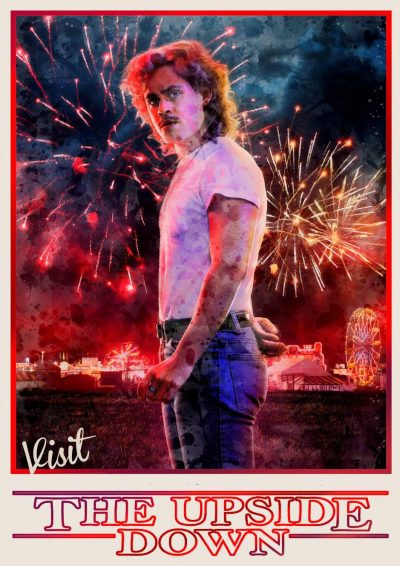 A3 Print - Stranger Things - Billy Hargrove