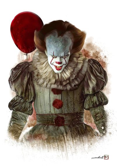 A3 Print - IT - Clown