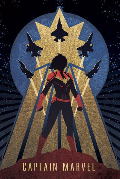 Captain Marvel - Deco