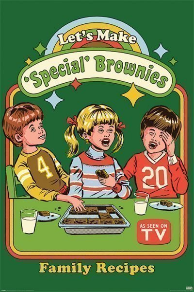 Steven Rhodes - Let's Make Special Brownies