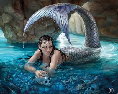 Anne Stokes - Hidden Depths, Sjöjungfru