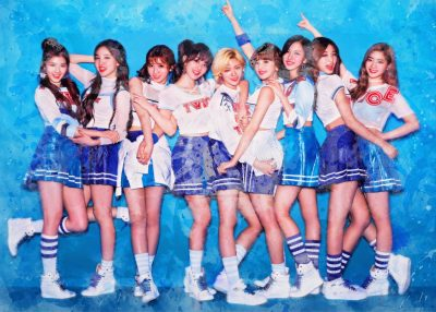 Pergament - K Pop - Twice Blue
