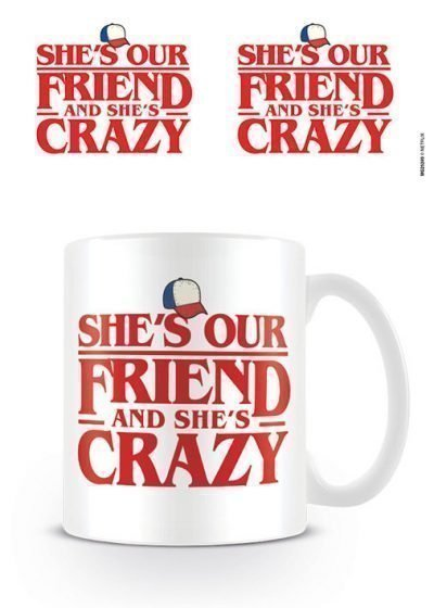 Stranger Things - Shes Our Friend - Mugg