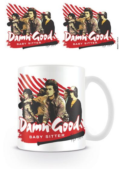 Stranger Things - Damn Good Babysitter - Mugg