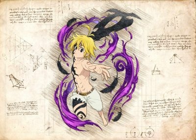 Pergament - 7 Deadly Sins - Meliodas Deamon